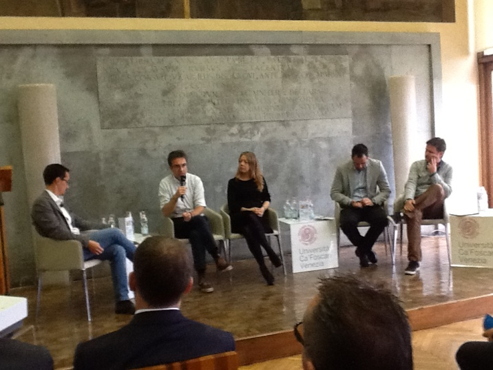 Evento CreaIDEA in Aula Baratto, Ca' Foscari