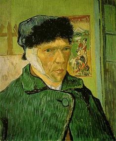 Autoritratto con l'orecchio bendato - Vincent Van Gogh - 1889 - Courtauld Gallery, Londra