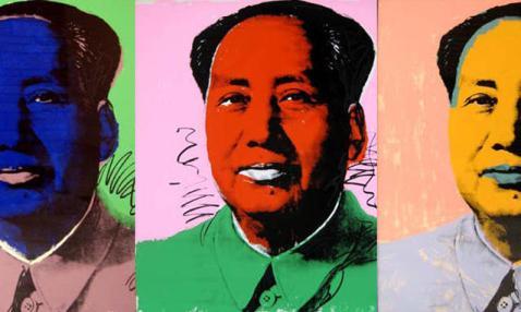 Serigrafia di MaoTse Tung - Andy Warhol - fonte: archivio.panorama.it