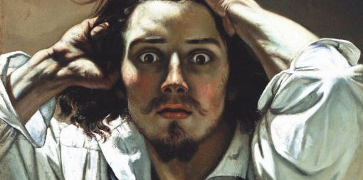 Uomo disperato (autoritratto) - Gustave Courbet - 1844-45 - Collezione privata BNP Paribas Art divisory - Fonte: lachiavedisophia.com