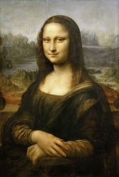 La Gioconda - Leonardo Da Vinci - 1303-1306 circa - Museo del Louvre, Parigi