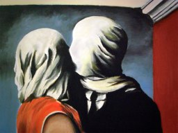 Gli amanti - René Magritte - 1928 - National Portrait Gallery, Australia - Fonte: cultura.biografieonline.it