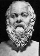 Busto di Socrate