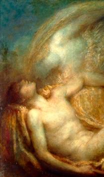 "George Frederic Watts OM RA (1817-1904) ""Endymion"" (particolare), 1903 - Watts Gallery, Surrey"