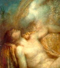 "George Frederic Watts OM RA (1817-1904) ""Endymion"" (particolare), 1903 - Watts Gallery, Surrey"