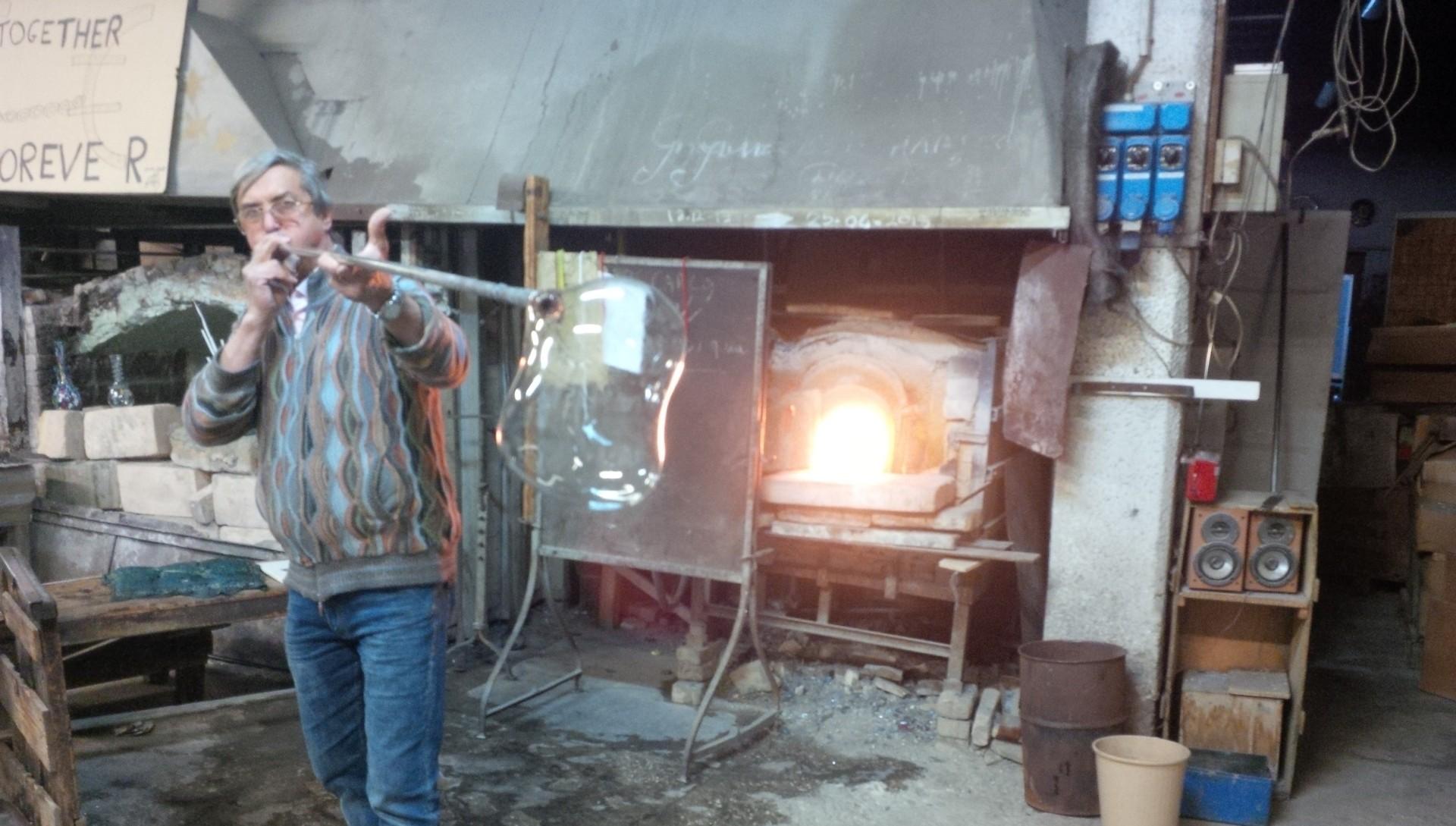 Artigiano - lavorazione del vetro