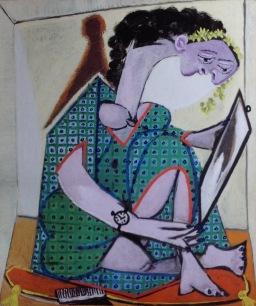 Donna con orologio, 1936