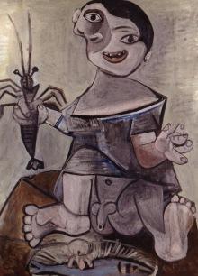 Ragazzo con l'aragosta, 1941