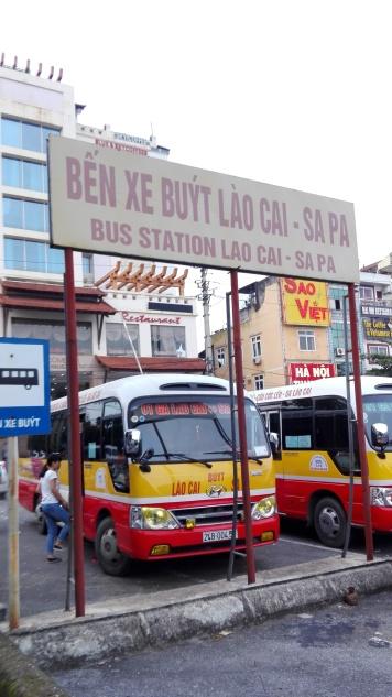 Lao Cai Bus Station