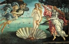"""Sandro Botticelli (1445-1510), """"Nascita di Venere"""" (ca. 1482-5)"""