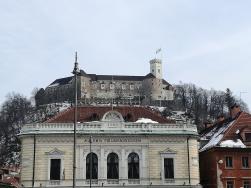 Il Castello visto dalla città