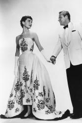 "Audrey Hepburn e William Holden in ""Sabrina"" (1954)"
