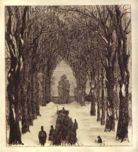 """Otto Rast (1890-1930), """"Il Rosengarten come cimitero"""""""