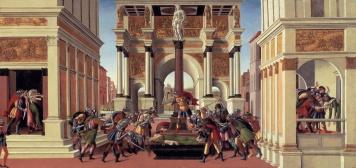 "Sandro Botticelli (1445-1510), ""Storie di Lucrezia"" (ca. 1498), Isabella Stewart Gardner Museum, Boston"